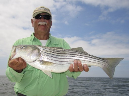 Gene nets a nice rockfish for Mom
