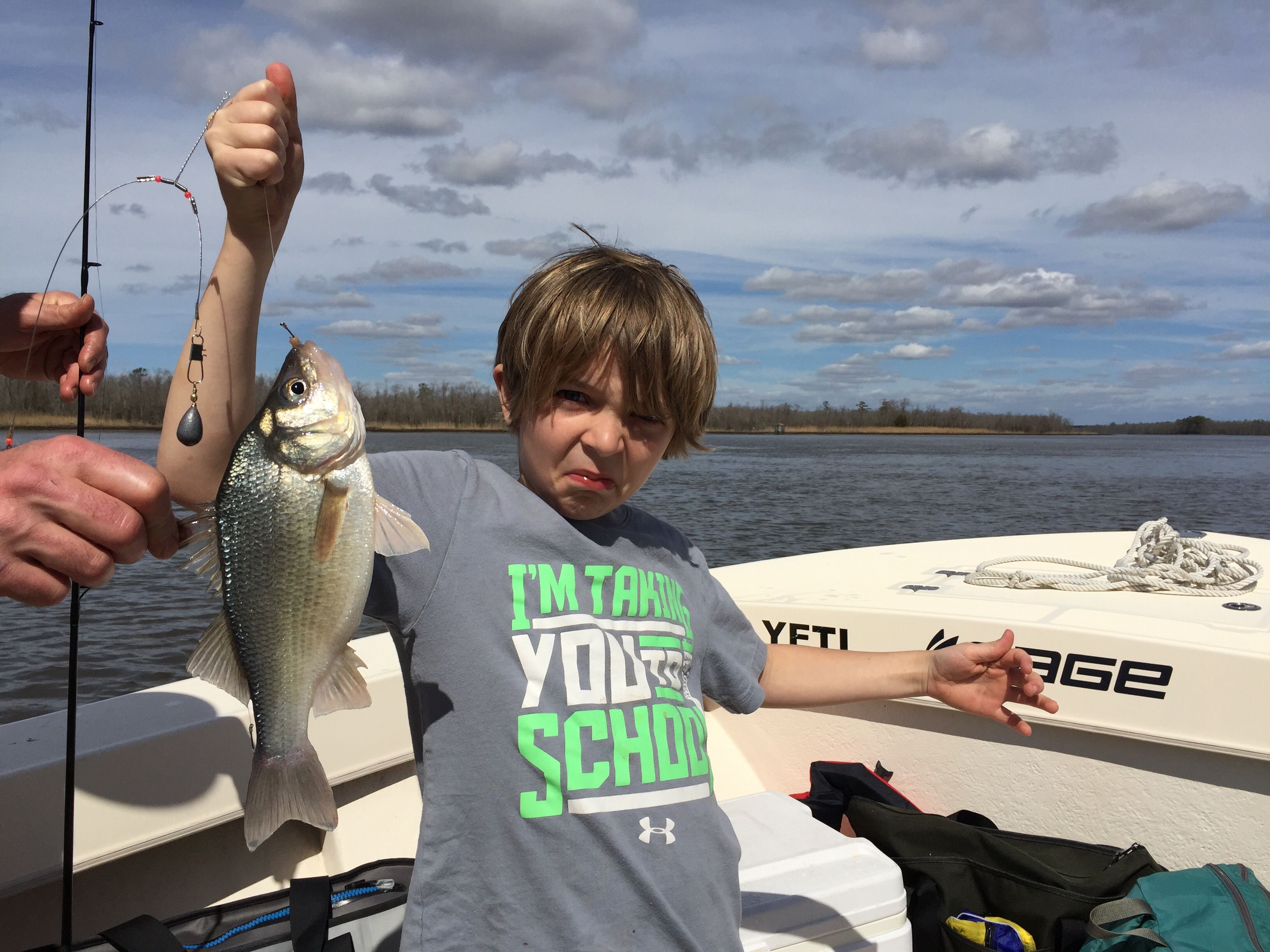 Secret s out big white perch are in josenhans fly for White perch fishing rigs